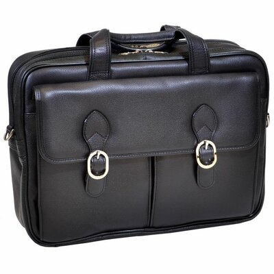 S Series Kenwood Leather Double Compartment Laptop Case