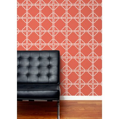 Aimee Wilder Designs Asian Trellis Wallpaper by Aimée Wilder