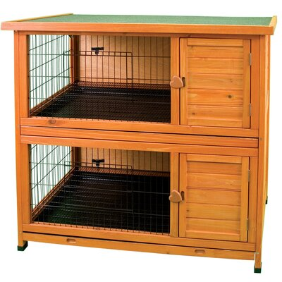 Premium Double Decker Small Animal Hutch