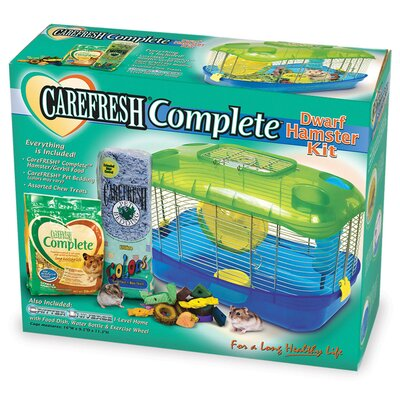 Ware Mfg Carefresh Dwarf Hamster Cage Kit