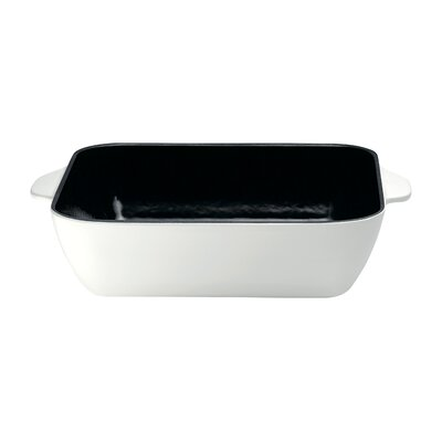 Raymond Blanc by Anolon Cast Iron 26 cm Square Baking Oven Dish in White