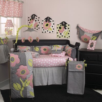 Poppy 8 Piece Crib Bedding Set