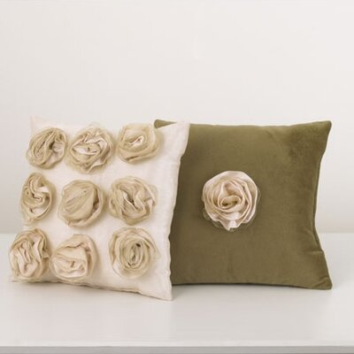 Cotton Tale Lollipops and Roses Pillow (Set of 2)