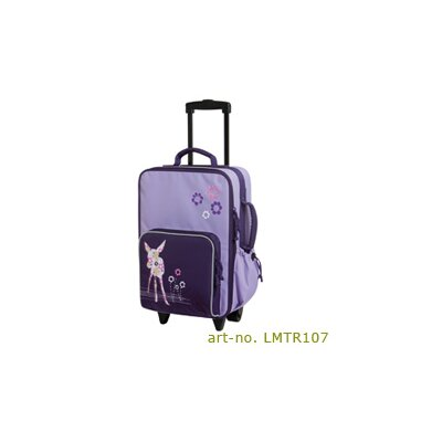 "Lassig Bags Deer Kids Trolley  18.5"" Spinner Suitcase"