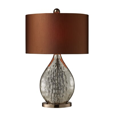 Dimond Lighting Sovereign One Light Table Lamp in Antique Mercury Glass