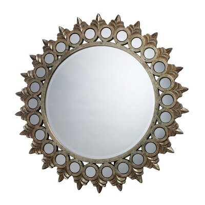 Dimond Lighting Porterdale Mirror in Rosebery Gold