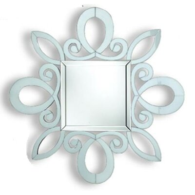 Dimond Lighting Phoenix Park Mirror in White