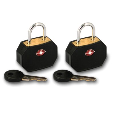 Lewis N. Clark Travel Sentry Mini Padlock Set