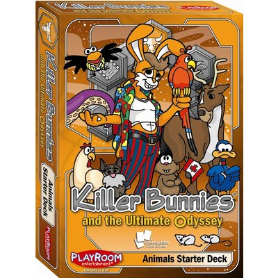 Playroom Entertainment Killer Bunnies Odyssey Animals Starter Game