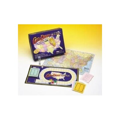 Talicor Family Games Geo / Derby USA Board Game