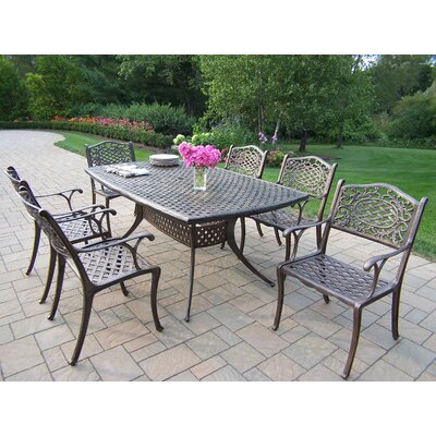 Oakland Living Oxford Mississippi 7 Piece Dining Set