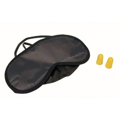 Eye Mask and Set of Earplugs