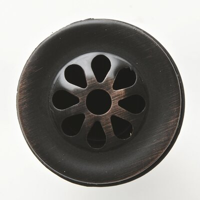 "Premier Copper Products 1.5"" Grid Bathroom Sink Drain"