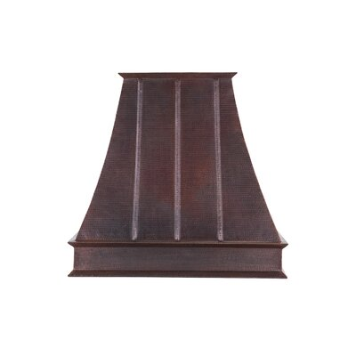 Premier Copper Products Hand Hammered Euro Range Hood