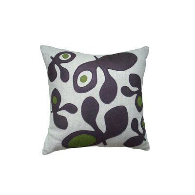 Balanced Design Pods Applique Pillow
