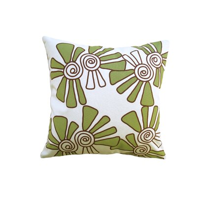 Balanced Design Hand Printed Canvas Pillow Alex
