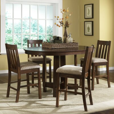 Liberty Furniture Urban Mission Casual 5 Piece Counter Height Dining Set