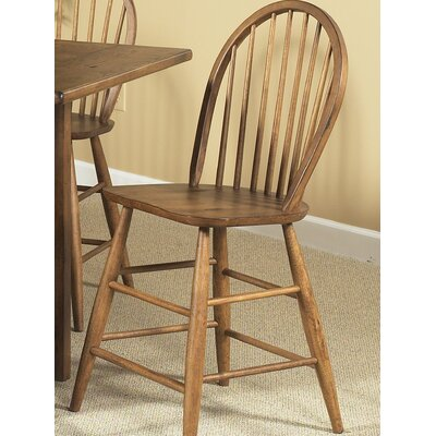 Liberty Furniture Farmhouse Casual Dining Counter Height Chair in Weathered Oak