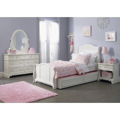 Liberty Furniture Arielle Trundle Sleigh Headboard