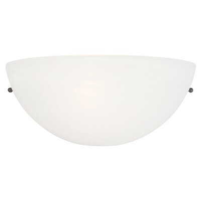 Yosemite Home Decor Glacier Point One Light Half Moon Wall Sconce in Satin Nickel