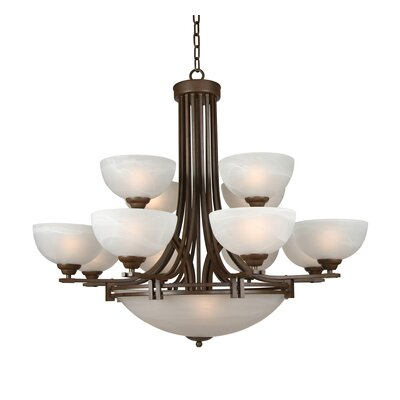 Sequoia 15 Light Chandelier