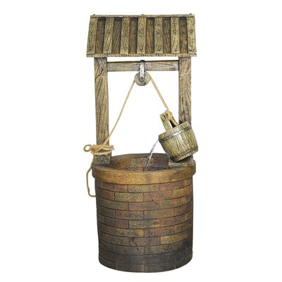 Yosemite Home Decor Vintage Style Wishing Well Fountain