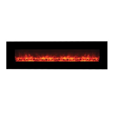 Yosemite Home Decor Wall Mounted Electric Fireplace