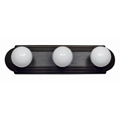 Yosemite Home Decor 3 Light Bath Vanity Light