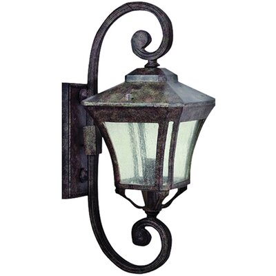 Yosemite Home Decor Borrego 3 Light Outdoor Wall Lantern