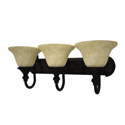Yosemite Home Decor Verona 3 Light Bath Vanity Light