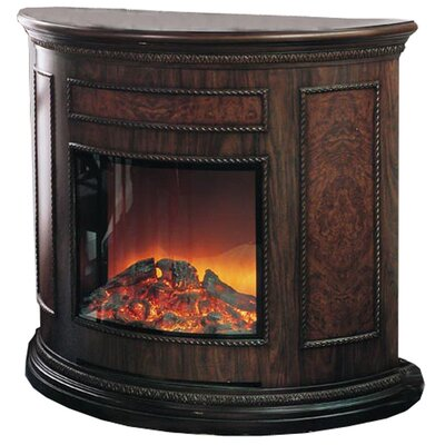 Yosemite Home Decor Wooden Electric Fireplace