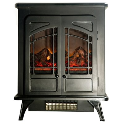 Compact Electric Fireplace