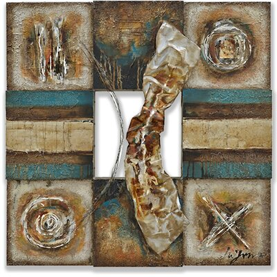 Yosemite Home Decor Lustrious Metal I