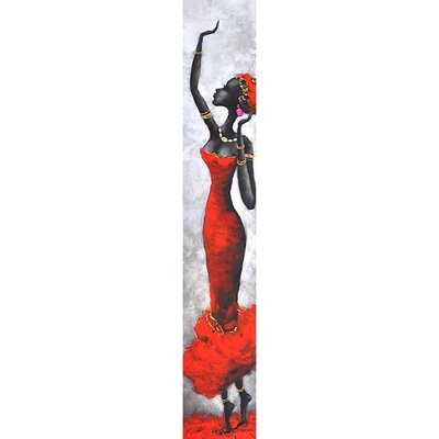 Yosemite Home Decor Lady in Red I Canvas Art