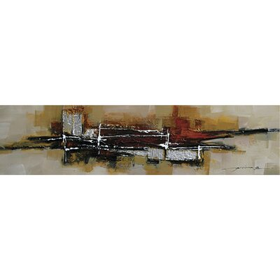 Abstract City I Canvas Art