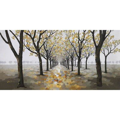 Pathway Hand Painted Wall Art
