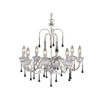 Vaxcel Sonata 8 Light Chandelier