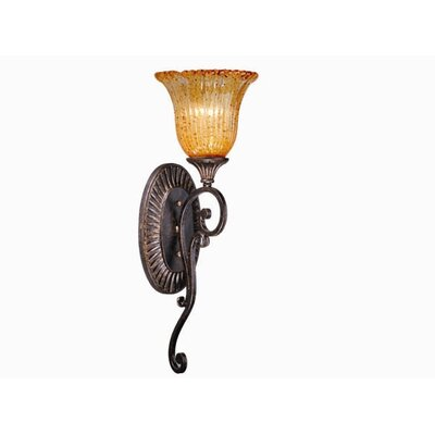 Modena Wall Sconce in Walnut Patina