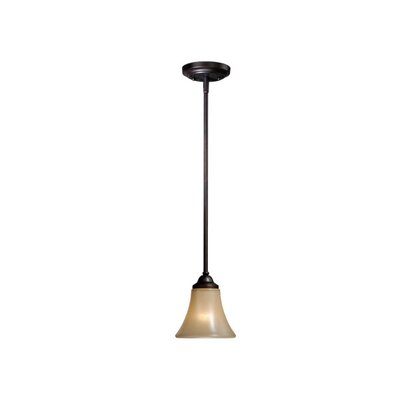 Vaxcel Oslo 1 Light Mini Pendant