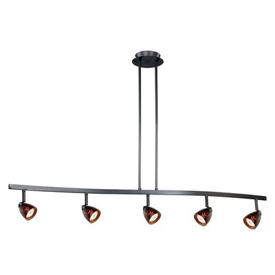 Vaxcel 5 Light Kitchen Island Pendant