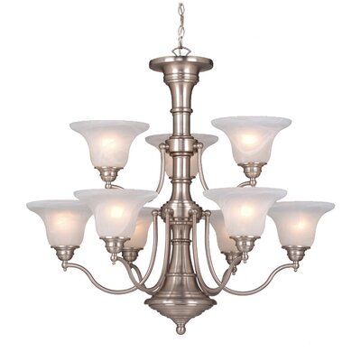 Standford 9 Light Chandelier