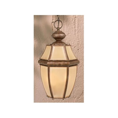 Vaxcel Calvin 2 Light Outdoor Pendant