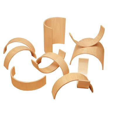 Whitney Brothers 20 Piece Bentwood Block Set