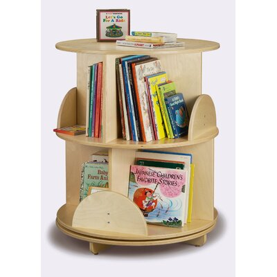 Whitney Brothers 32&quot; H Two Shelf Book Carousel