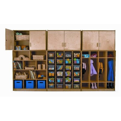 Whitney Brothers Wall Storage Shelf Cabinet