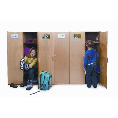 Whitney Brothers Preschool Two Unit Coat Locker