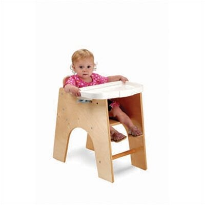 Whitney Brothers NewWave Low High Chair