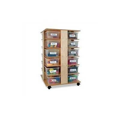 Whitney Brothers 24 Tray Cubby Tower