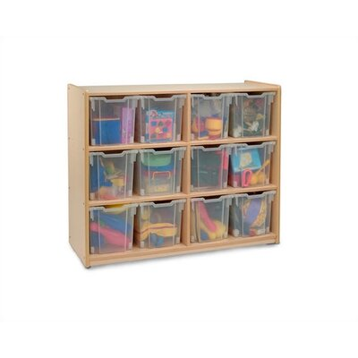 Whitney Brothers 12 Tray Cubby Storage