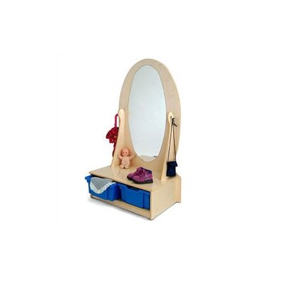 Whitney Brothers Vanity Mirror Wardrobe